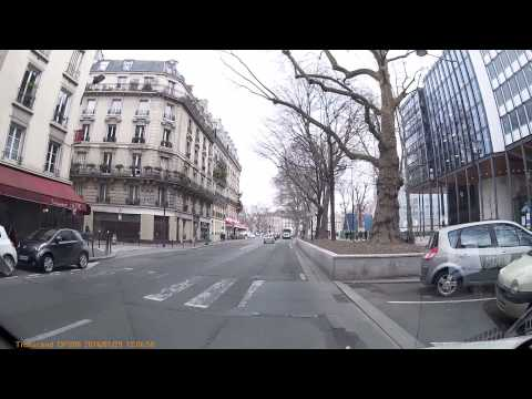 Driving In Paris - 29/01/2016