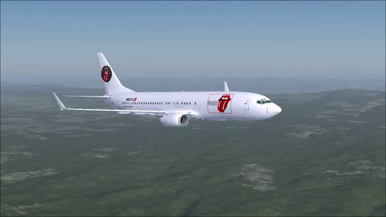 Fsx Boeing 737 Rolling Stones Full Flight From Zagreb To Bergamo Youtube