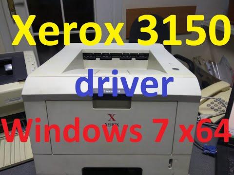 Xerox 3150 установка драйвера на Windows 7 х64