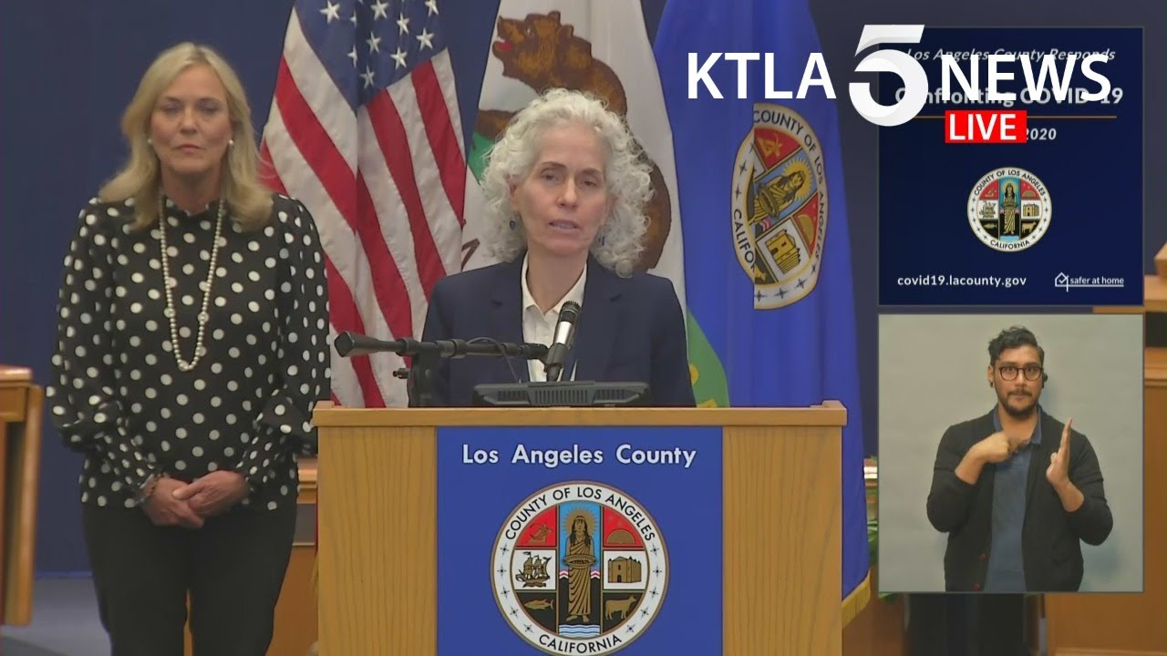 'We Know We Are Asking A Lot.' Los Angeles County Announces ...
