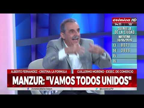 Guillermo Moreno: 'Alberto