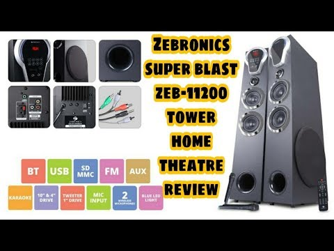 ZEBRONICS SUPER BLAST TOWER HOME THEATRE/UNBOXING/REVIEW/MY NEW LIFESTYLE