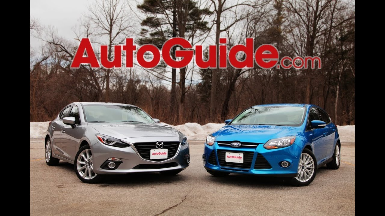 2014 Mazda3 Vs 2014 Ford Focus Youtube