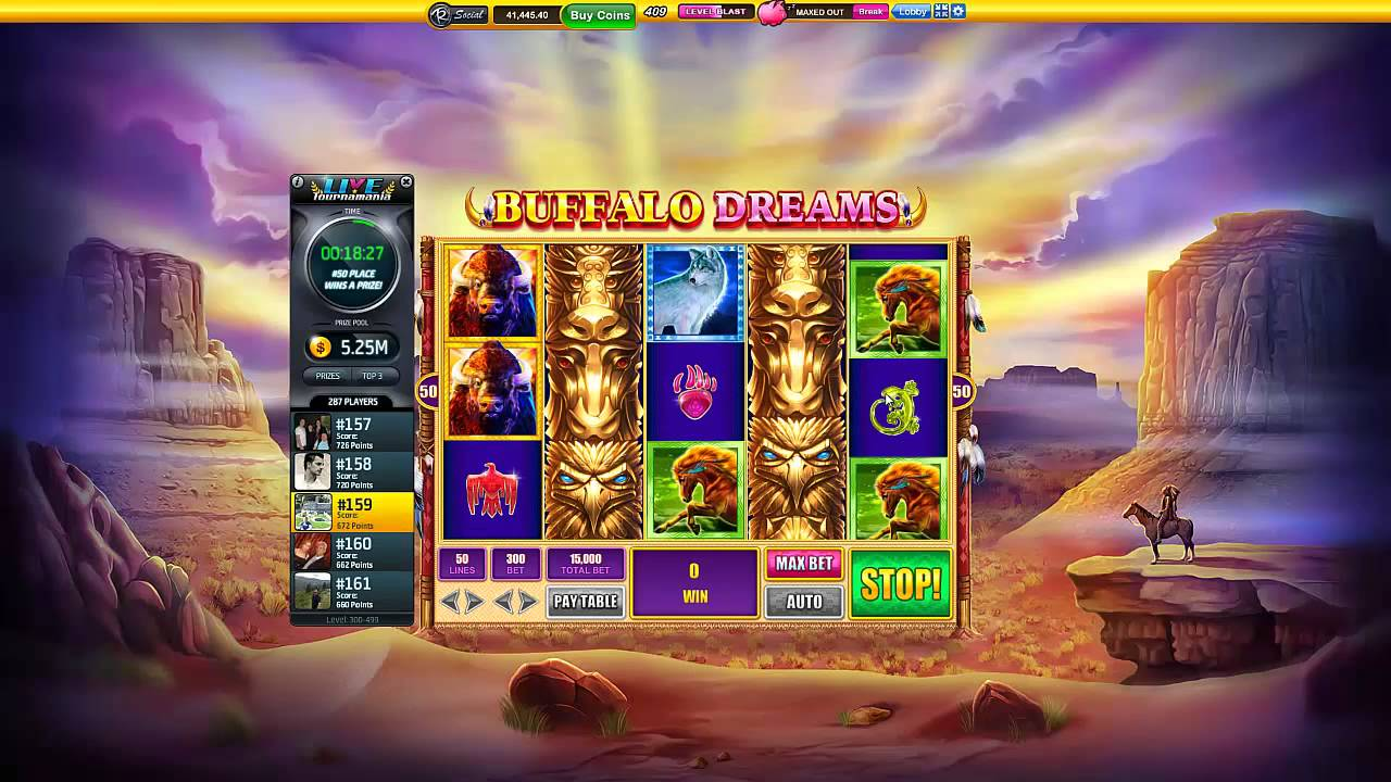 Slotomania Slot Machines Buffalo Dreams With 15 000