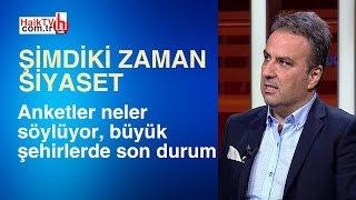 Anketler neler söylüyor, büyük şehirlerde son durum/Gürkan Hacır ile Şimdiki Zaman Siyaset / 4 Mart