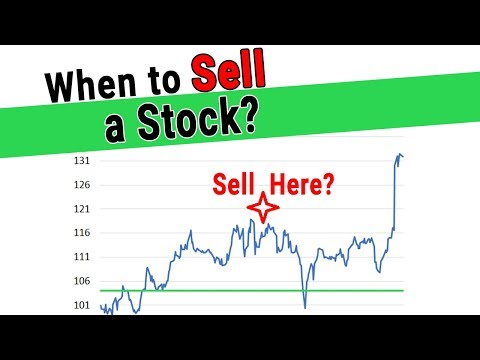 When to Sell a Stock Exactly for the Buy and Hold Investor - Warren Buffett Style of Investing