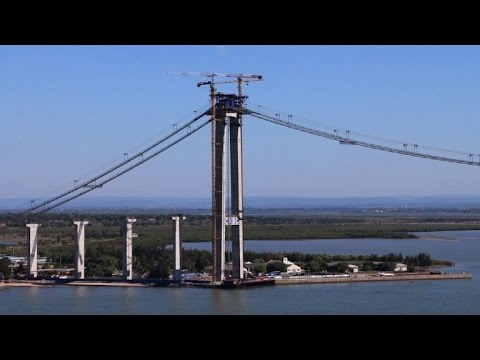 Africa's longest suspension bridge causing awe & controversy