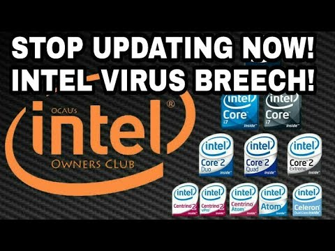 Warning! your personal data will be hacked! Intel warns about the virus breech! watch to know more!