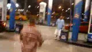 Little Gangster Beats up Fat Guy - Shaolin Style