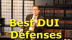 DUI attorney explains Best DUI Defenses in Virginia - Beating DWI in Va.