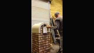 How To Build A Cast Stone And Brick Mailbox  Part3