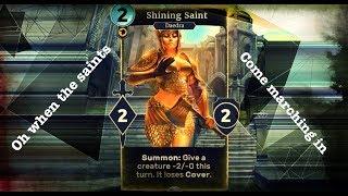 IoM Card Reveal   Shining Saint - Elder Scrolls Legends