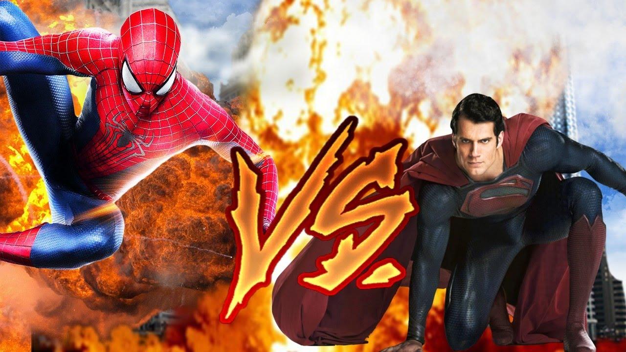 SUPERMAN VS SPIDERMAN EPIC RAP BATTLE ProiiRaps Ft ...