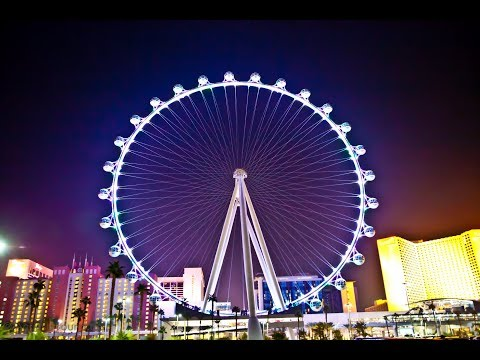 Part 1 Road Trip to High Roller at The Linq in Las Vegas NV