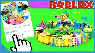 Comprar Infinite Pet Gamepass y hacer miles de millones en Roblox Pet Simulator