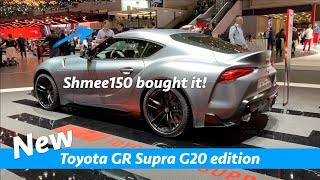 Toyota GR Supra 2020 first look | Plus A90 edition Shmee150 bought!