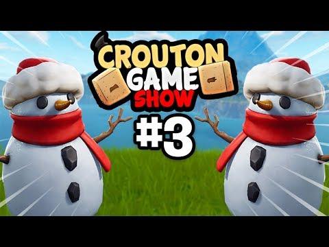 C'EST PARTIT POUR UN NOUVEAU CROÛTON GAME SHOW !! Ft Michou/Lebouseuh/Valouzz/Deujna