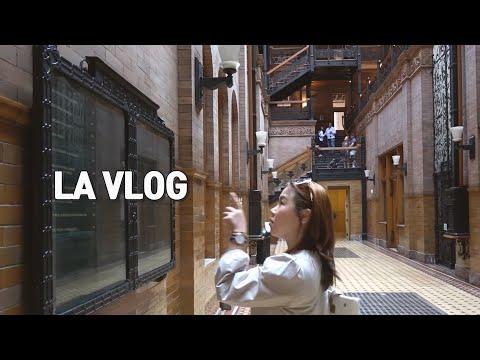 미국 LA여행 꼭 가보고 싶던 라라랜드 코스 따라잡기 | 여행유튜버 흥부부