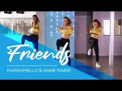 Friends - Marshmello & Anne Marie (Hbz Bounce Remix) Combat Fitness Dance Choreography - Baile Mp3