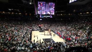 Spurs - Rockets Game 2 Playoffs 2017 intro
