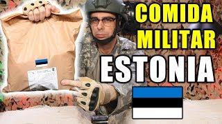 Probando COMIDA DE SUPERVIVENCIA MILITAR de ESTONIA