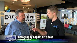 Local wild life photographer showcases his art.
