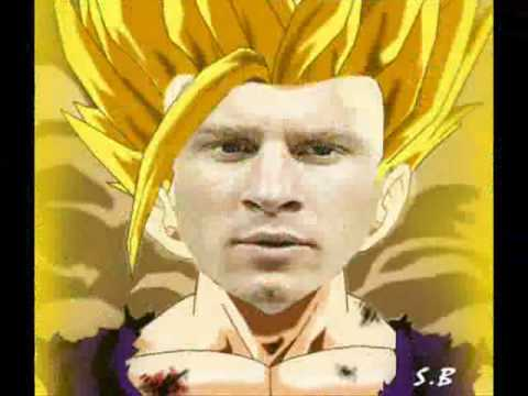 Dragon Ball Soccer (Son Go Messi vs Cr7 Perfecto) - YouTube