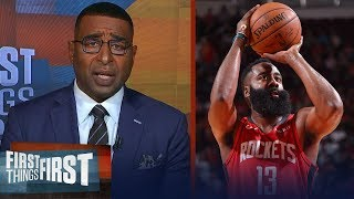Cris Carter doesn't believe Rockets are good enough to win a championship | NBA | FIRST THINGS FIRST