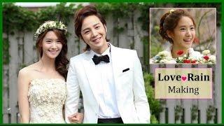 1080p [SNSD] Yoona & チャン・グンソク / Love Rain - [Making & ラストシーン] 201...