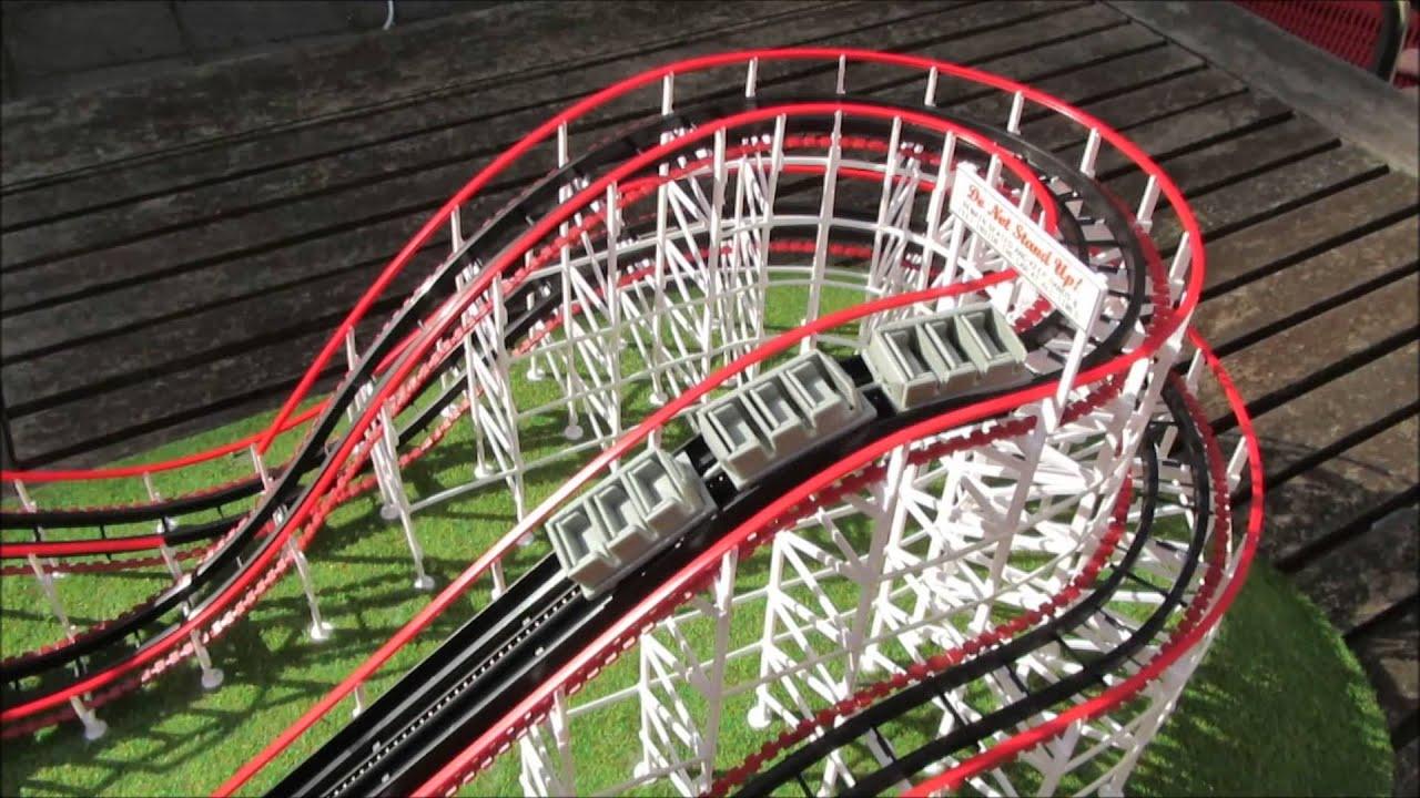 Quot Comet Quot Coasterdynamix Roller Coaster Model Youtube