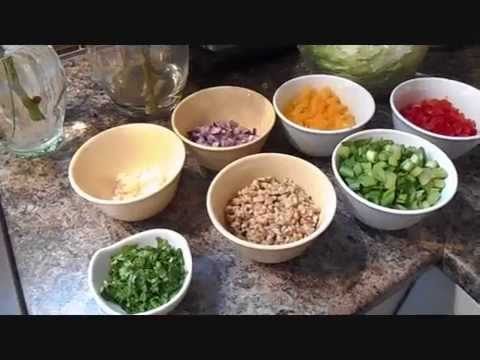 HEALTHY COOKING – WEIGHT LOSS – Asian Lettuce Wraps