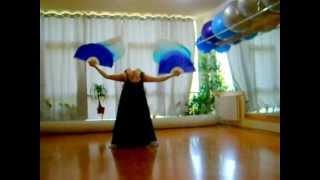 Восточные танцы с вейлами. Студия Танцев Кокетка