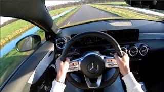 MercedesAMG A35 Akrapovic Exhaust POV DRIVE POPS amp; BANGS