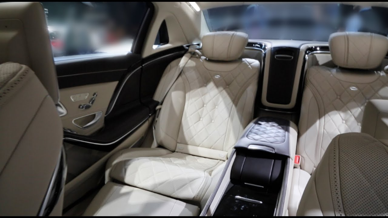 all new mercedes maybach s600 exclusive walk around and interior tour