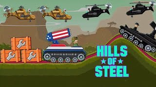 Hills of steel BARRACUDA tank - Tanks for kids - Games bii