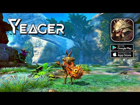Yeager - Monster Hunter Gameplay (Android/IOS)