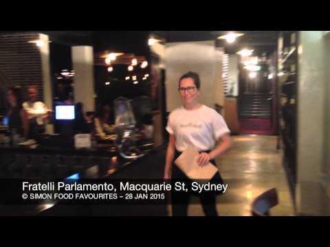 Fratelli Parlamento, Macquarie St, CBD Sydney - 28 Jan 2015