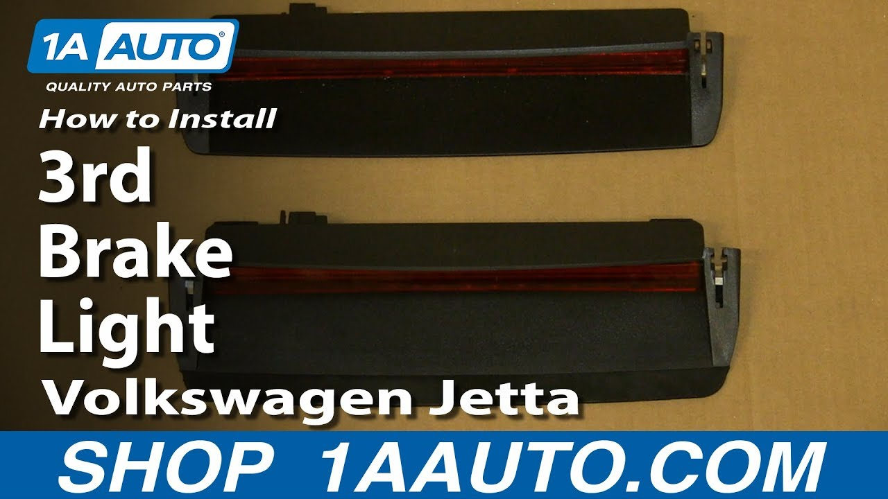 maxresdefault how to install replace 3rd brake light 2005 10 volkswagen jetta Jetta Tail Light Bulb at gsmportal.co