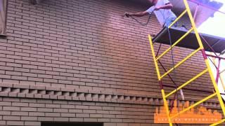 Безвоздушная окраска фасада(, 2014-08-13T20:40:53.000Z)
