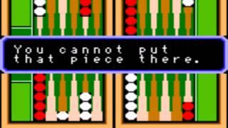 Game Boy Color Backgammon