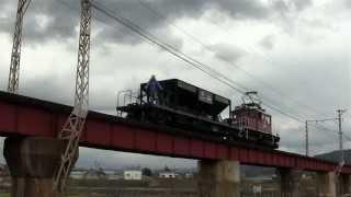 2013/5/4(Sat) 弘南鉄道大鰐線 ED221+ホキ1246 石川プール前~石川
