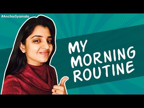 Anchor Syamala's Morning Routine | VLog 5 | Yem Chepparu Syamala Garu