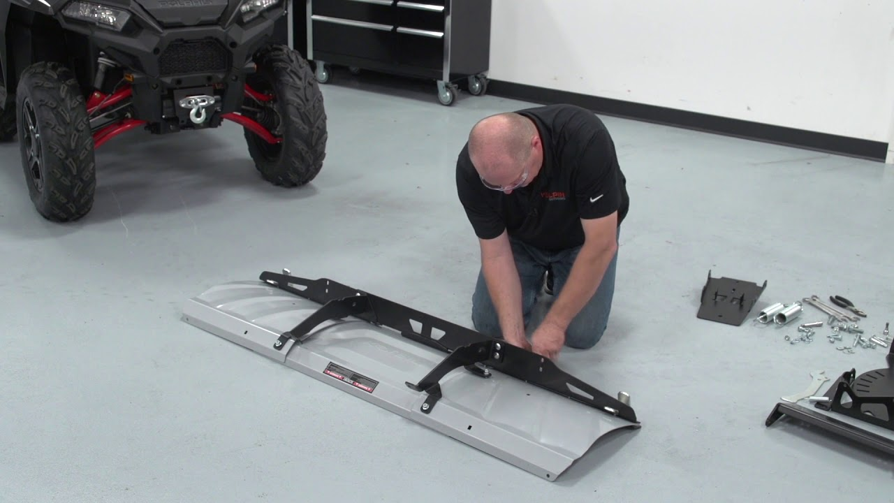 Switchblade Atv Snow Plow System Assembly And Installation Meyer Wiring Diagram For Poly Kolpinoutdoors