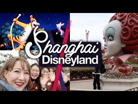 Shanghai Disneyland #2! Pooh, Soarin', Alice & Tomorrowland! March 2018