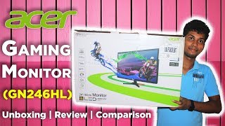 acer Gaming Monitor  Unboxing  Review  Comparison With Normal Monitor  Dekh Review (Hindi/Urdu)