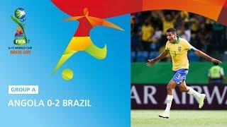 Angola V Brazil Highlights  Fifa U17 World