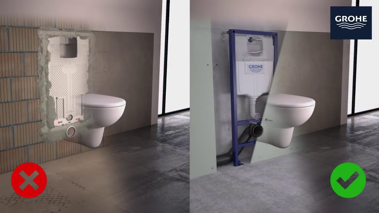 Sanitarios Grohe Grohe Sensia Arena Shower Toilet Refurbishment