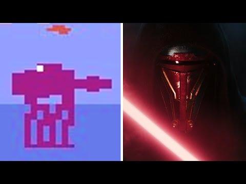 Evolution Of Star Wars Games 1982-2019