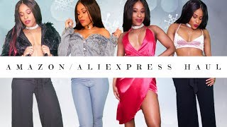 ALIEXPRESS/ AMAZON CLOTHING HAUL | Try On