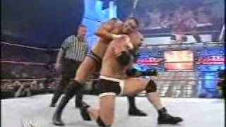 bill goldberg vs randy orton